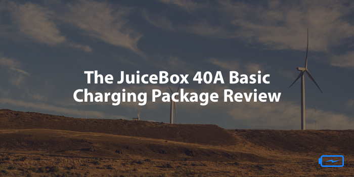 The JuiceBox 40A Basic Charging Package Review